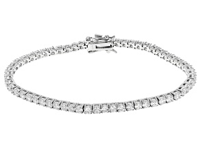 Pre-Owned Cubic Zirconia Sterling Silver Bracelet 9.00ctw