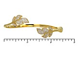 Pre-Owned Cubic Zirconia 18k Yellow Gold Over Silver Bracelet 1.79ctw (1.12ctw DEW)