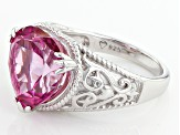 Pre-Owned Pure Pink™ Topaz Sterling Silver Ring. 8.50ct