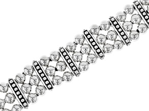Pre-Owned Sterling Silver Multi-strand Bracelet