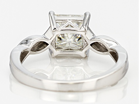 Pre-Owned Moissanite Platineve Ring 1.70ct D.E.W