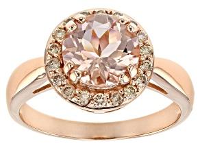 Pre-Owned Pink Morganite 10K Rose Gold Ring 1.73ctw