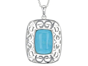 Pre-Owned Turquoise Sterling Silver Necklace