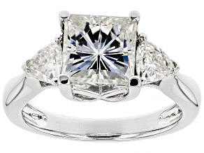 Pre-Owned Moissanite Platineve Ring 3.10ctw D.E.W
