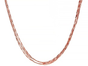 Pre-Owned Copper Five-Strand Necklace