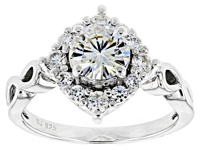 Pre-Owned Moissanite Platineve Ring 1.44ctw D.E.W