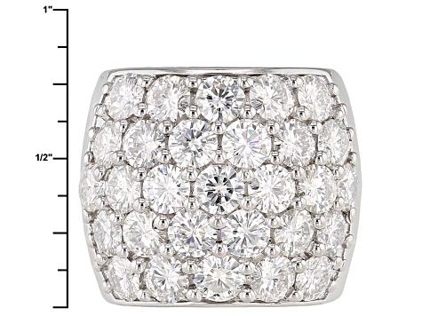 Pre-Owned Moissanite Ring Platineve™ 7.25ctw DEW