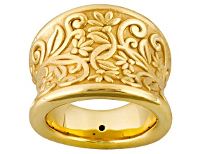 Pre-Owned 14k Yellow Gold Artformed Tuscan Crest Ring