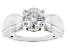 Pre-Owned Moissanite Platineve Ring 2.04ctw DEW