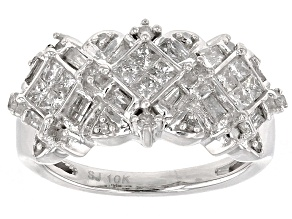 Pre-Owned Diamond 10k White Gold Ring .75ctw