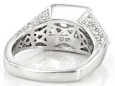 Pre-Owned White Cubic Zirconia Platineve Ring 8.35ctw