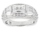 Pre-Owned Cubic Zirconia Platineve Ring 3.17ctw