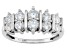 Pre-Owned Cubic Zirconia Silver Ring 1.90ctw