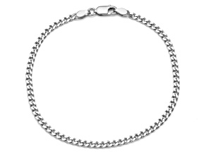 Pre-Owned Sterling Silver Curb Chain Bracelet