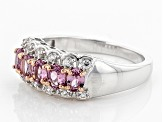 Pre-Owned Purple Garnet Silver Ring 1.22ctw
