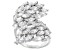 Pre-Owned white cubic zirconia rhodium over sterling silver ring 8.66ctw