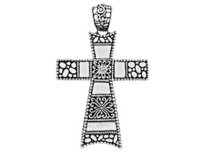 Pre-Owned Sterling silver cross pendant