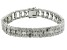 Pre-Owned Diamond Rhodium Over Brass Bracelet 1.00ctw