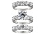 Pre-Owned Womens Wedding Set Ring Cubic Zirconia 8.57ctw Sterling Silver