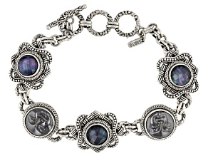 Pre-Owned Silver Hematine Silver Bracelet