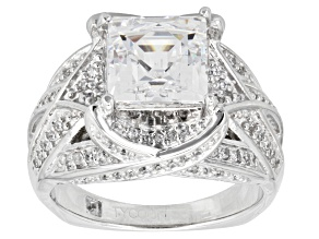 Pre-Owned Cubic Zirconia Platineve Ring 5.04ctw