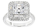 Pre-Owned White Cubic Zirconia Platineve Ring 5.17ctw