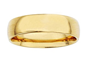 Pre-Owned 10k Yellow Gold 6mm Band Ring