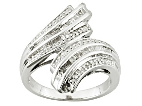 Pre-Owned Diamond Sterling Silver Ring .40ctw