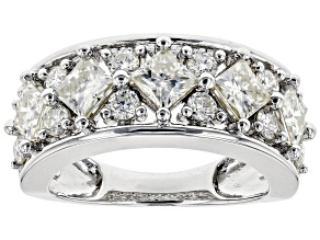 Pre-Owned Moissanite Platineve Ring 2.77ctw D.E.W