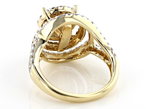 Pre-Owned White Diamond 10k Yellow Gold Ring 1.50ctw
