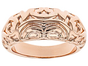 Pre-Owned Filigree Band Copper Ring