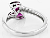 Pre-Owned Purple Rhodolite Sterling Silver Ring 1.04ctw