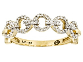 Pre-Owned White Diamond 14k Yellow Gold Ring .20ctw