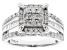 Pre-Owned Diamond 10k White Gold Ring 1.30ctw