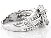 Pre-Owned Diamond 10k White Gold Ring 1.30ctw