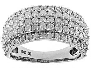 Pre-Owned White Diamond 10k White Gold Ring 1.50ctw