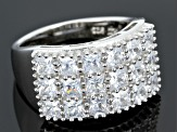 Pre-Owned Cubic Zirconia Silver Ring 4.50ctw