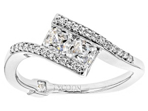 Pre-Owned Cubic Zirconia Platineve Ring 1.26ctw (.90ctw DEW)