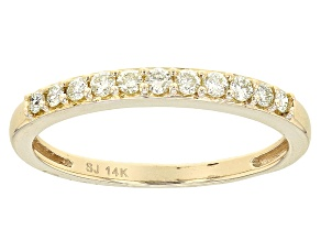 Pre-Owned Yellow Diamond 14k Yellow Gold Band .25ctw