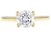 Pre-Owned White Cubic Zirconia 10k Yellow Gold Ring 1.75ctw