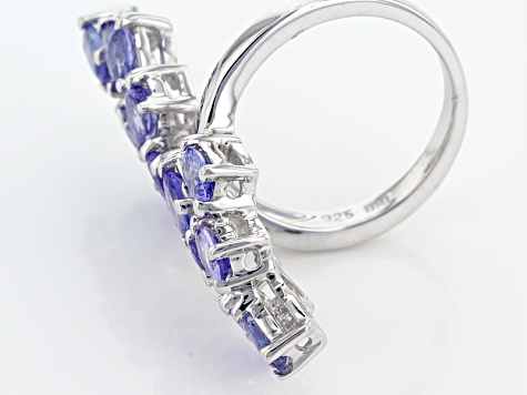 Pre-Owned Blue Tanzanite Sterling Silver Ring 3.00ctw