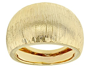 Pre-Owned 14k Yellow Gold Cesello Aretino Ring