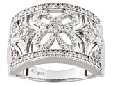 Pre-Owned Diamond Silver Ring .33ctw