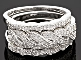 Pre-Owned Diamond Sterling Silver Bands .25ctw
