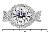 Pre-Owned Cubic Zirconia Platineve Ring 7.75ctw