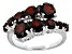 Pre-Owned Red Garnet Sterling Silver Ring 3.80ctw