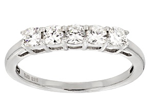 Pre-Owned Moissanite Platineve Ring .65ctw D.E.W