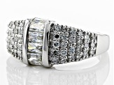 Pre-Owned Moissanite Platineve Ring 1.50ctw D.E.W