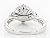 Pre-Owned Moissanite Platineve Ring 2.66ctw D.E.W