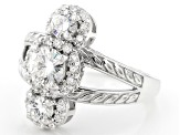Pre-Owned Moissanite Platineve Ring 1.82ctw D.E.W